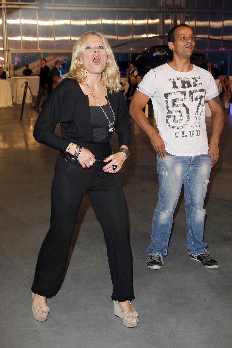 Urszula z mężem Tomaszem Kujawskim / Engelbrecht /AKPA