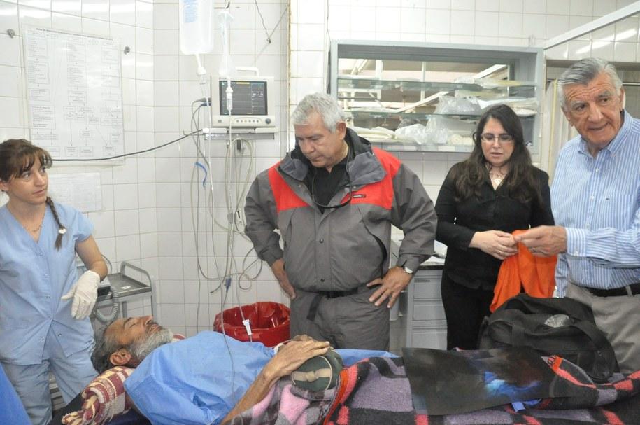 Urugwajczyk za kilka dni ma zostać wypisany ze szpitala /Diario de Cuyo /PAP/EPA