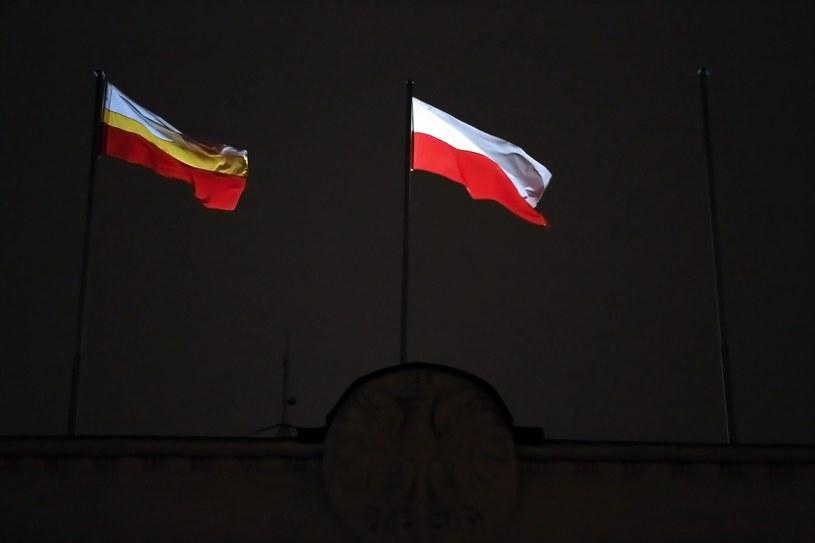 Urząd województwa bez flagi UE /Mateusz Skwarczek /