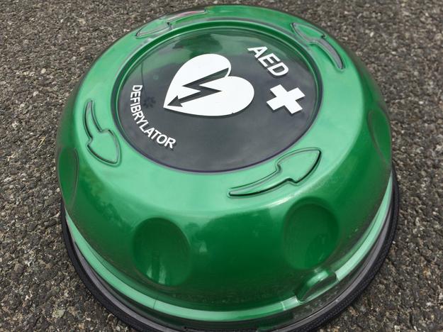 Urządzenie AED - przenośny defibrylator /Agnieszka Wyderka /RMF FM