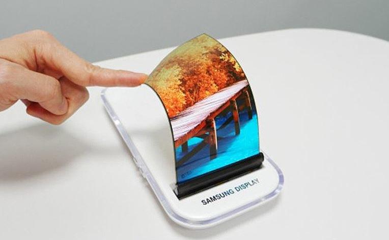 Urządzenie może bazować na elastycznym ekranie /materiały prasowe
