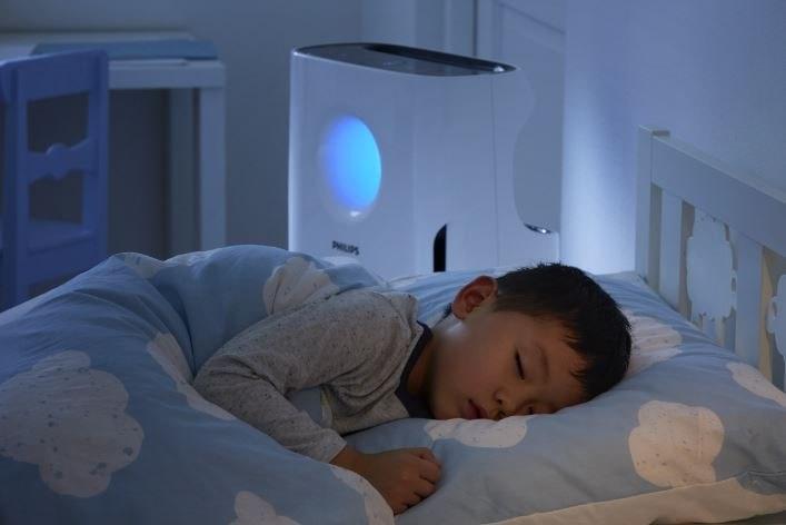 Urządzenie Philipsa jest ciche, więc można śmiało ustawić je w pokoju dziecięcym /materiały prasowe