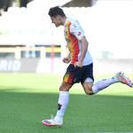 US Lecce - Ascoli 1-2 w 21. kolejce Serie B. Gol Stępińskiego