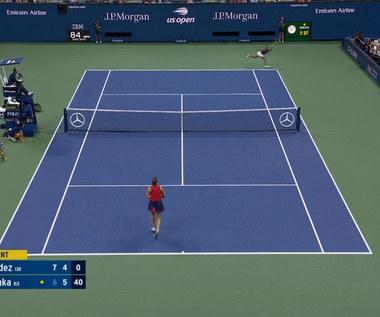 US Open. Fernandez pokonała Sabalenkę i zagra w finale! WIDEO