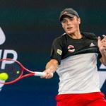 US Open. Kacper Żuk w drugiej rundzie eliminacji