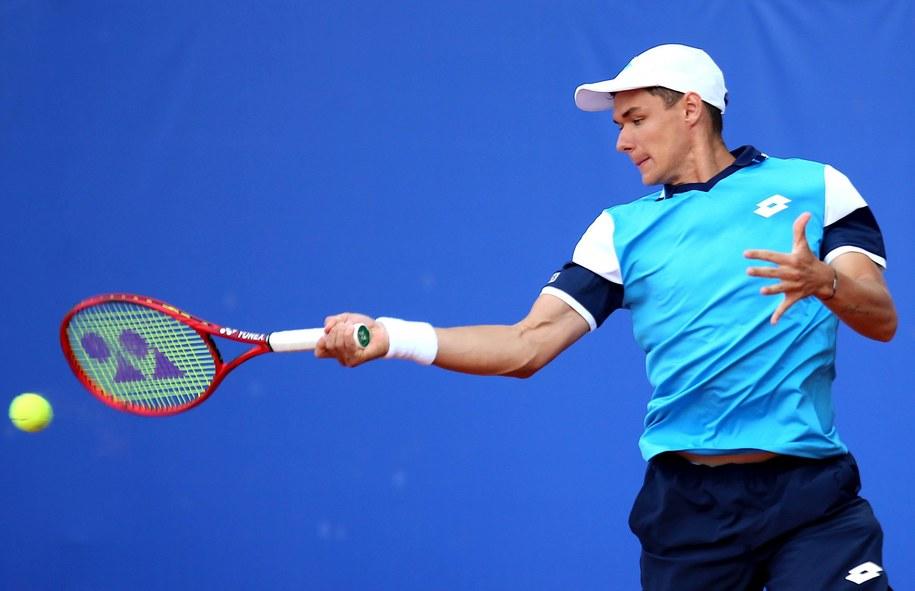 US Open: Kamil Majchrzak odpadł w pierwszej rundzie. Zdjęcie ilustracyjne / Andrzej Grygiel    /PAP