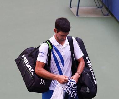 US Open. Wilander: Djoković miał wielkiego pecha, ale decyzja była prawidłowa