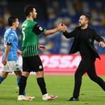 US Sassuolo - SSC Napoli 3-3 w 25. kolejce Serie A. Gol Zielińskiego