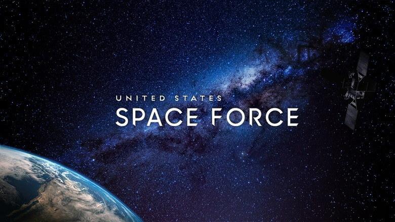 US Space Force - oficjalny element wizualizacji nowych sił zbrojnych /materiały prasowe