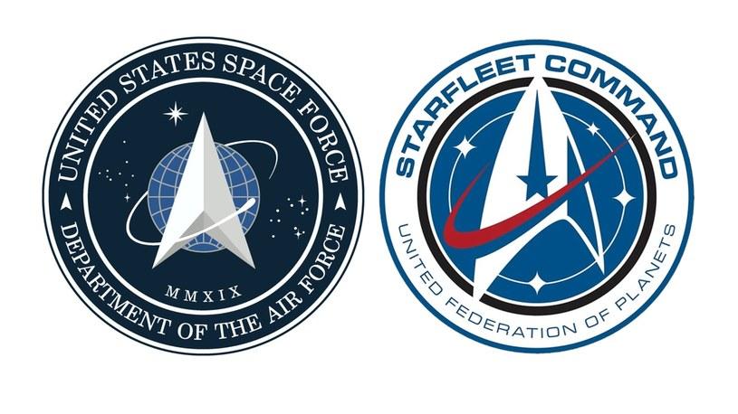 US Space Force vs Star Trek /materiał zewnętrzny