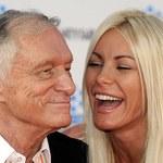 """USA: 86-letni założyciel """"Playboya"""" Hefner ponownie się ożenił"""