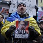 USA: Antyrosyjska demonstracja Ukraińców w Nowym Jorku