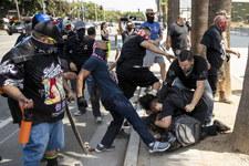 USA: Bójka przed ratuszem. Mężczyzna pchnięty nożem