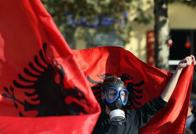 USA chciały, by broń chemiczną zlikwidowano w Albanii, na co nie zgodził się premier tego kraju Edi Rama /AFP