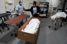 USA: Covid trzecią najczęstszą przyczyną śmierci