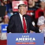 """USA: Donald Trump na pierwszym wiecu po wyborach. """"One były zbrodnią stulecia"""""""