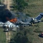 USA: Katastrofa samolotu. Wszyscy opuścili maszynę, zanim spłonęła