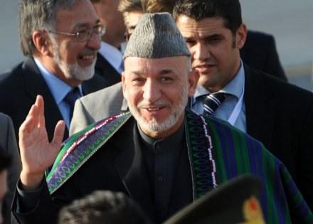 USA mają pretensje o korupcję w Kabulu i układy prezydenta z watażkami afgańskimi /AFP