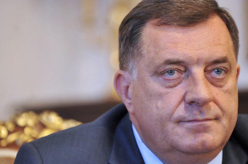 USA objęły sankcjami przywódcę bośniackich Serbów Milorada Dodika /AFP