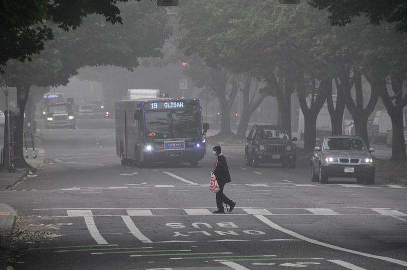 USA: Powietrze w Portland (w stanie Oregon) jest fatalnej jakości /AFP