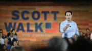 USA: Republikanin Scott Walker rozpoczął wyścig do Białego Domu