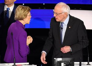 USA: Skąd wziął się konflikt Elizabeth Warren i Berniego Sandersa