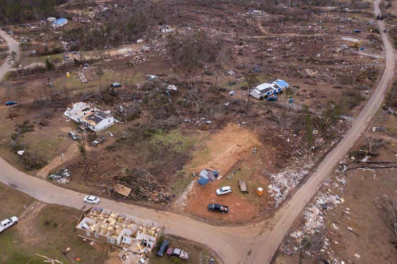 USA: Skutki tornada (arch.) /AFP