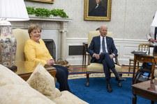 USA: Spotkanie Angeli Merkel z Joe Bidenem w Białym Domu
