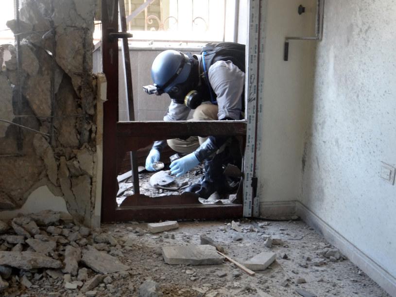 USA twierdzą, że mają dowody na to, że za atakiem chemicznym stoi reżim Baszara al-Asada /AFP