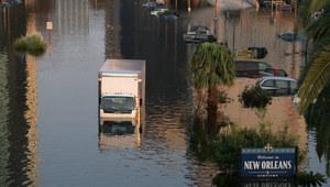 USA: Ulewne deszcze w Nowym Orleanie. Część miasta pod wodą