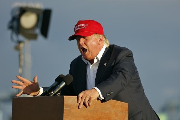 USA walczy z chińską firmą Huawei. Na zdj. prezydent Donald Trump /©123RF/PICSEL