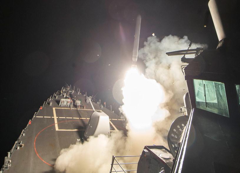 USA zaatakowały bazę lotniczą w Syrii /Agencja FORUM