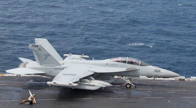 USA zaatakują z powietrza /AFP