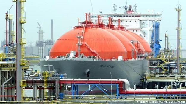 USA zamierzają w nadchodzących latach dostarczać do Niemiec LNG i wyprzeć z rynku Gazprom /Deutsche Welle