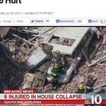 USA: Zawalił się budynek w Filadelfii. Są ranni