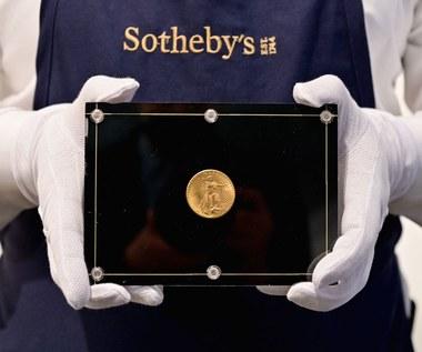 USA: Złota 20-dolarówka sprzedana za rekordowe 18,8 mln dolarów