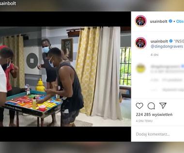 Usain Bolt dba o bezpieczeństwo przy grze planszowej. Wideo