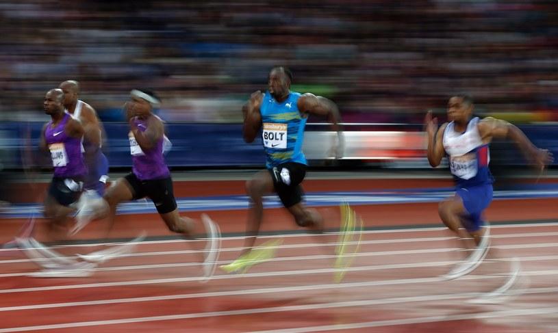 Usain Bolt (drugi z prawej) to gwiazda światowej lekkoatletyki /AFP