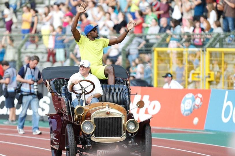 Usain Bolt, najszybszy człowiek świata /AFP