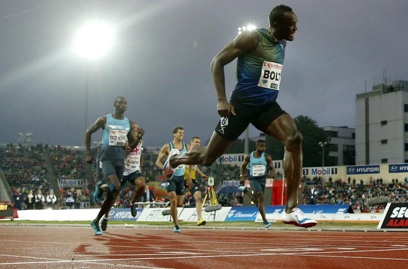 Usain Bolt nie miał sobie równych /AFP