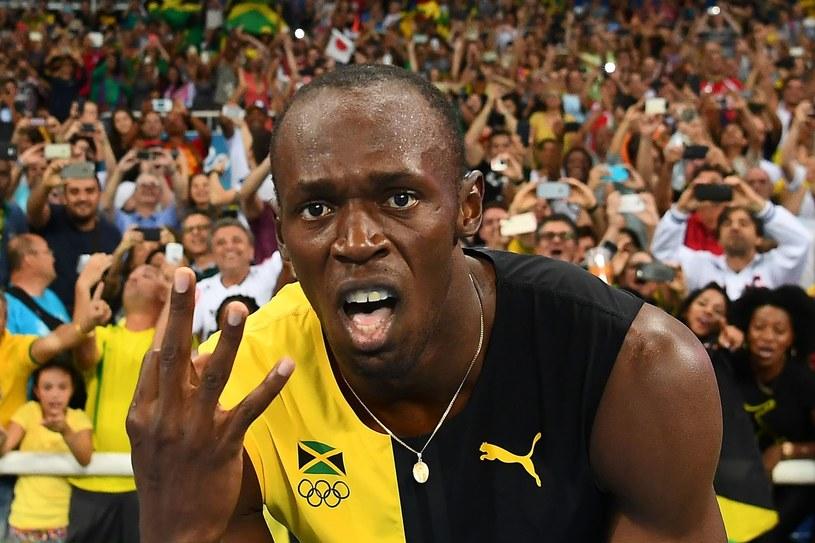 Usain Bolt podczas igrzysk w Rio /AFP