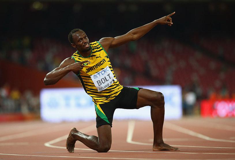 Usain Bolt przez lata był wielką gwiazdą mityngu w Ostrawie /Getty Images
