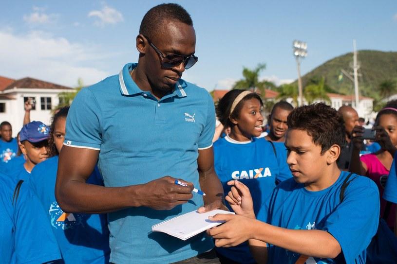 Usain Bolt zmienił plany /AFP