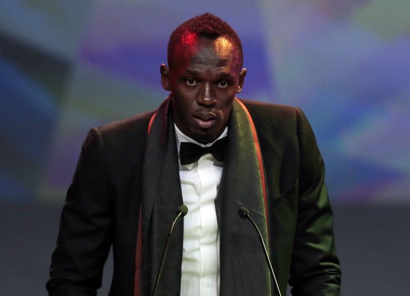 Usain Bolt został lekkoatletą roku /AFP