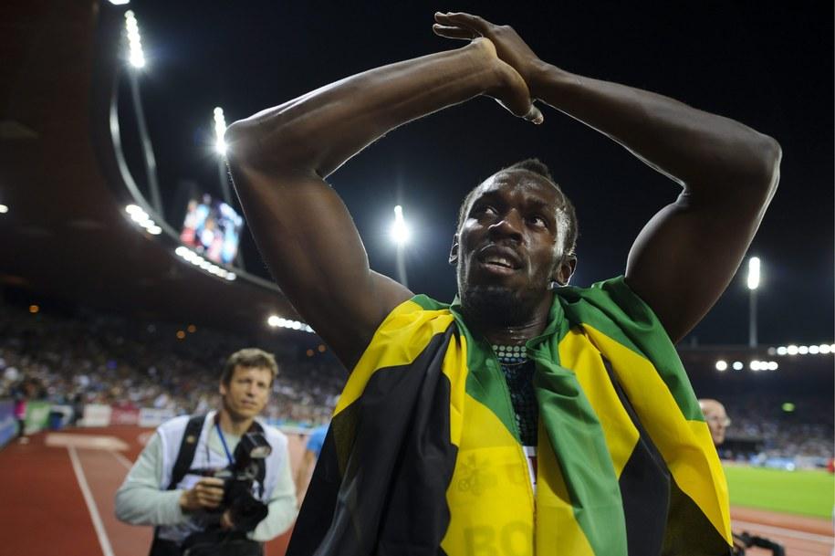 Usain Bolt /PAP/EPA/ENNIO LEANZA  /PAP/EPA
