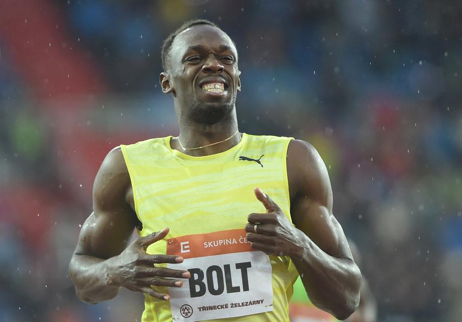 Usain Bolt /Jaroslav Ozana    /PAP/EPA