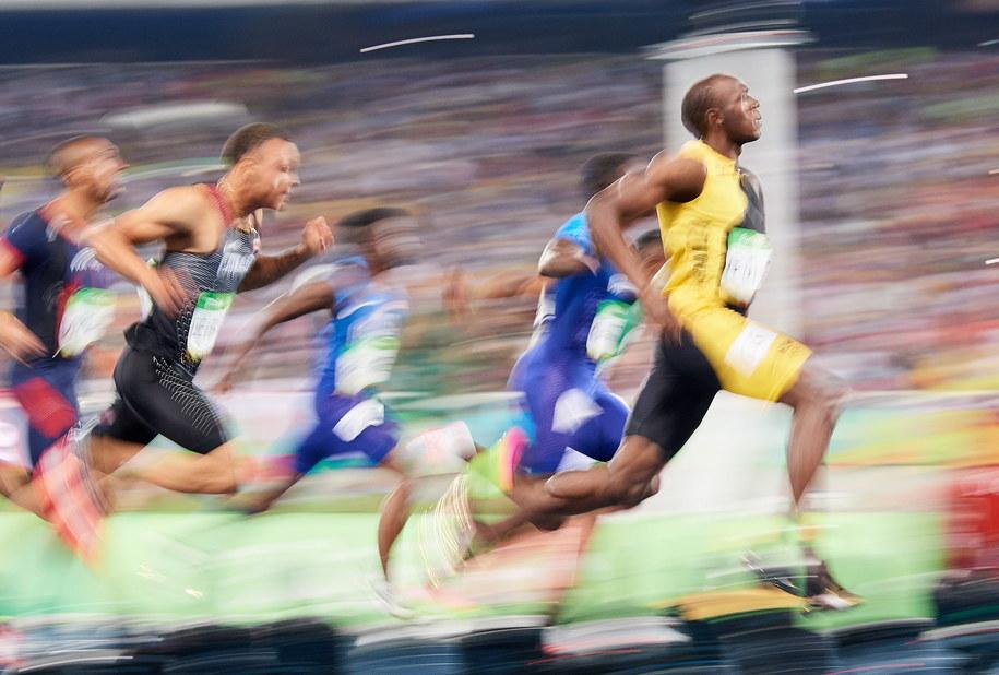 Usain Bolt /PAP/Adam Warżawa    /PAP