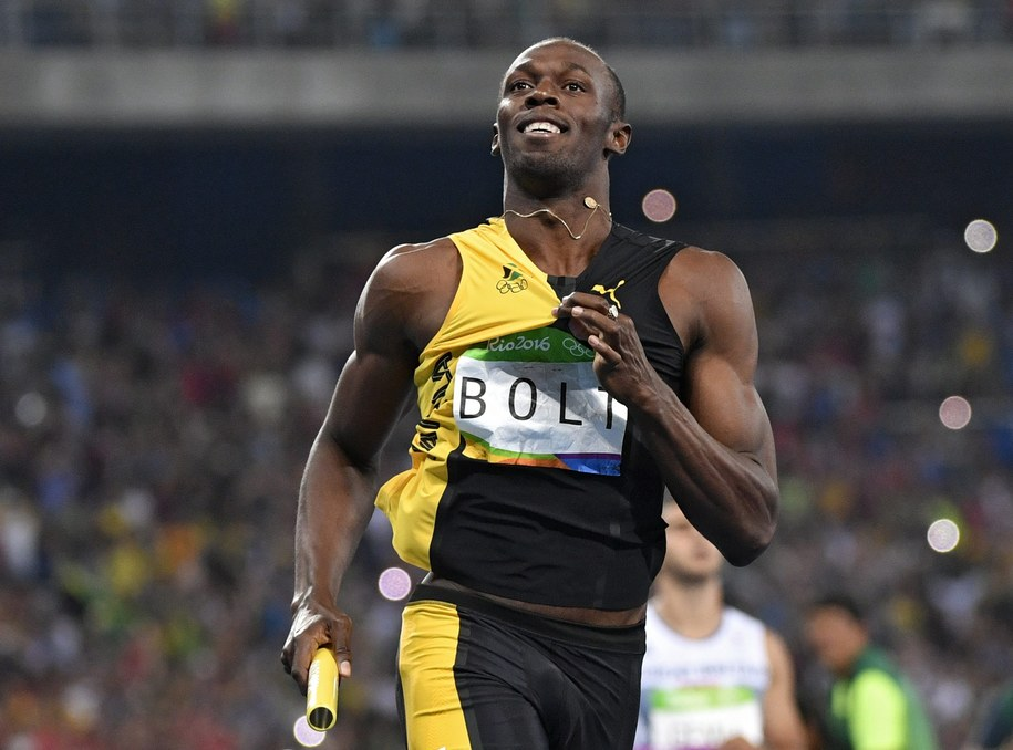 Usain Bolt /FRANCK ROBICHON /PAP/EPA