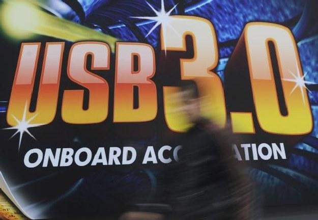 USB 3.0 robiło furorę na targach CeBIT w Hanowerze /AFP