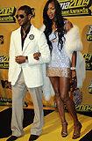 Usher i Naomi Campbell razem - to już przeszłość? /AFP